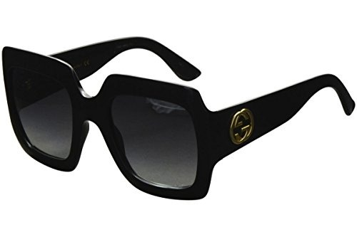 distribuidor mayorista 7d4c8 03c07 Gafas De Sol Cuadradas De Gran Tamaño Gucci 54mm