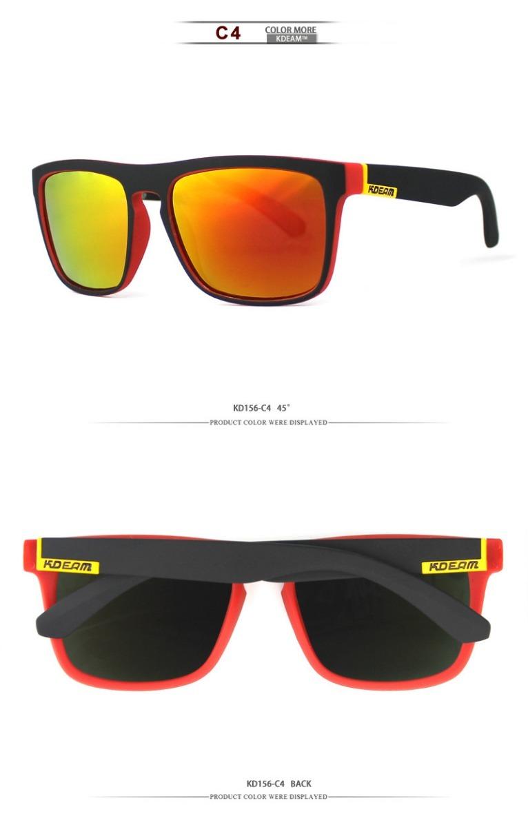 36cf107950 Gafas De Sol Cuadradas Polarizadas Para Hombre Kdeam - $ 15.490 en ...