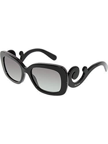 en De 986 Cuadradas Sol Gafas Negras Para Mujer 858 Prada gqBxzZ 8d357566ff