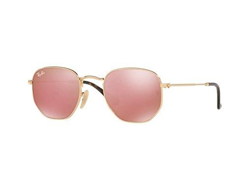 85fc8b4c9 Gafas De Sol De Lente Plana Hexagonal Para Hombres Ray-ban - $ 1.390.777 en  Mercado Libre