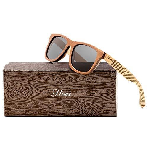 fe7022f2de Gafas De Sol De Madera De Bambú Para Hombres Polarizado ...
