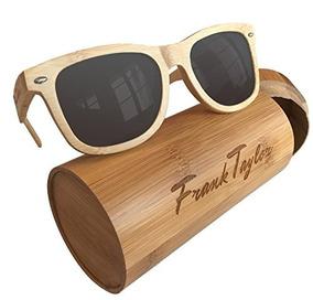 f80a28ff27 Gafas De Sol De Madera Hechas A Mano Por Frank Taylor 1 Ano