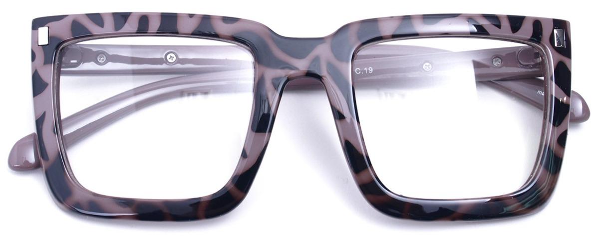 Gafas De Sol De Montura Cuadrada Grande Gafas De Nerd L ...