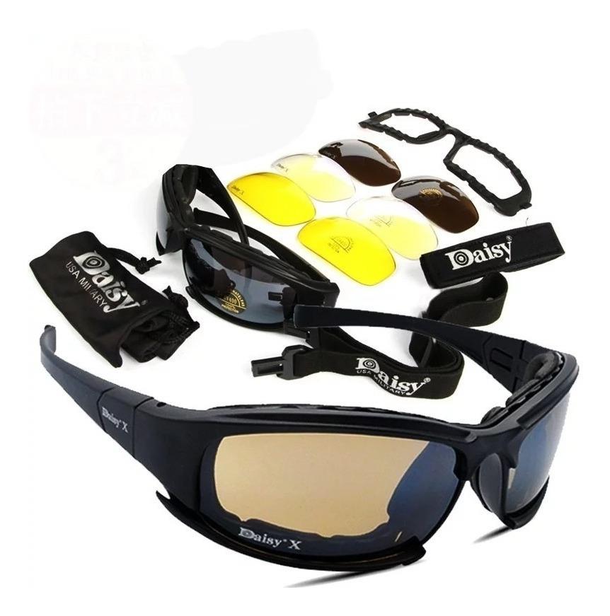 7bf279dc0b Gafas De Sol Deportivas, Militares, Moto, Ciclismo Daisy X7 ...