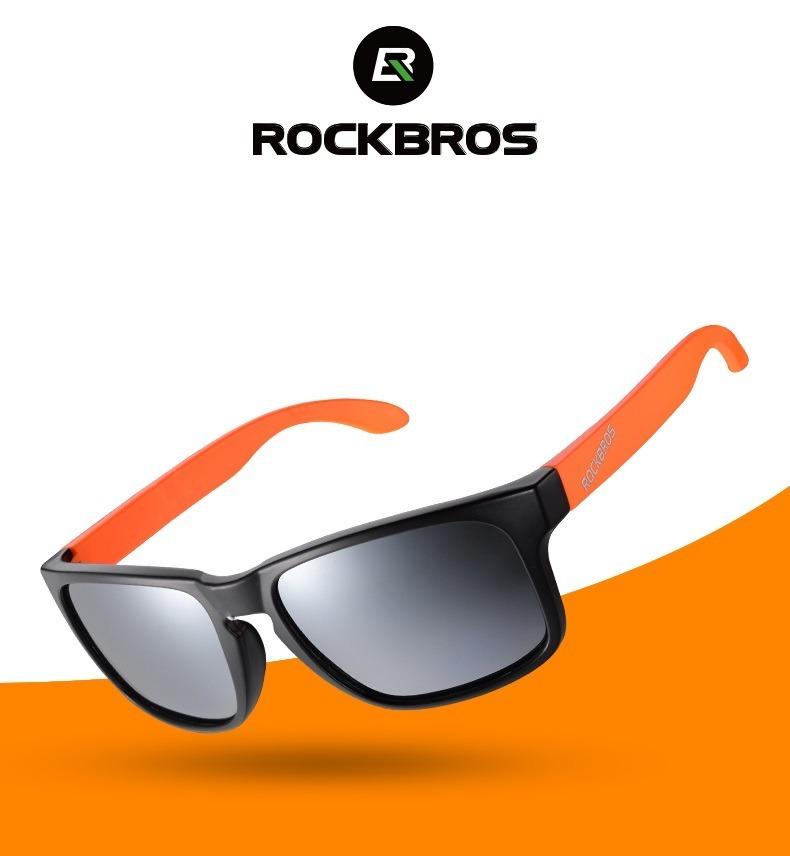 a4e9327d43 Gafas De Sol Deportivas Polarizada Rockbros Protección Uv400 - $ 70.000 en  Mercado Libre