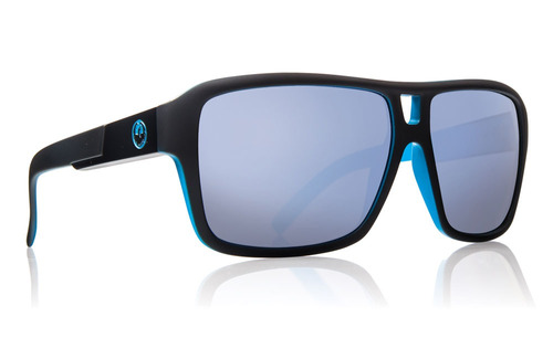 gafas de sol dragon the jam negro mate/azul cielo