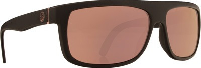 gafas de sol dragon wormser mate negro c/lente dorado rosa