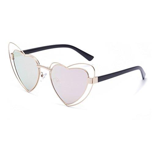 Doble Uv400 Gafas De En Corazón Sol Con Forma Orejillo CoWQderxBE
