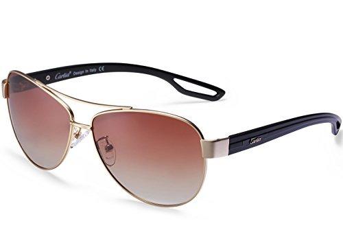 ec96063ae0 Gafas De Sol Estilo Aviador Unisex Gafas De Sol Polarizadas ...