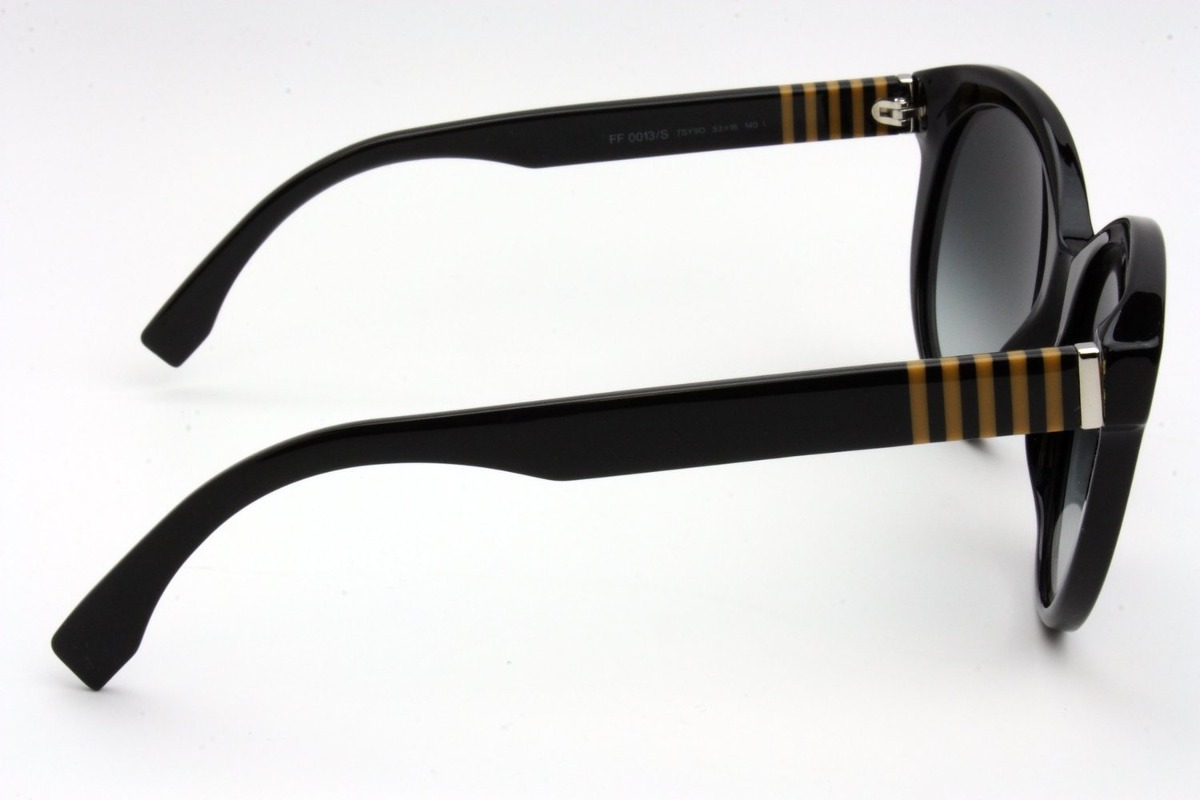 Gafas De Sol Fendi Ff0013/s Lente Degrade Marco Negro - $ 728.700 en ...