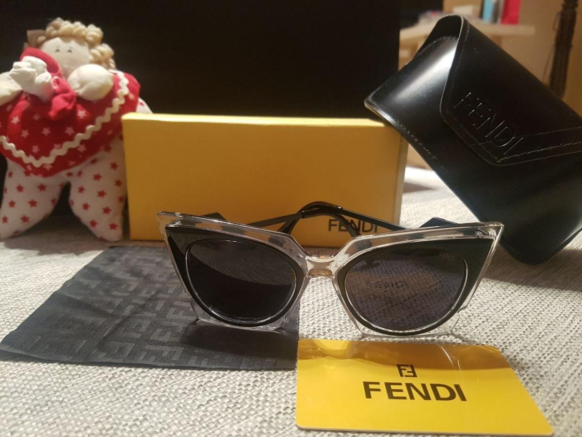 Gafas De Sol Fendi Marco Ojo De Gato - $ 2.300,00 en Mercado Libre