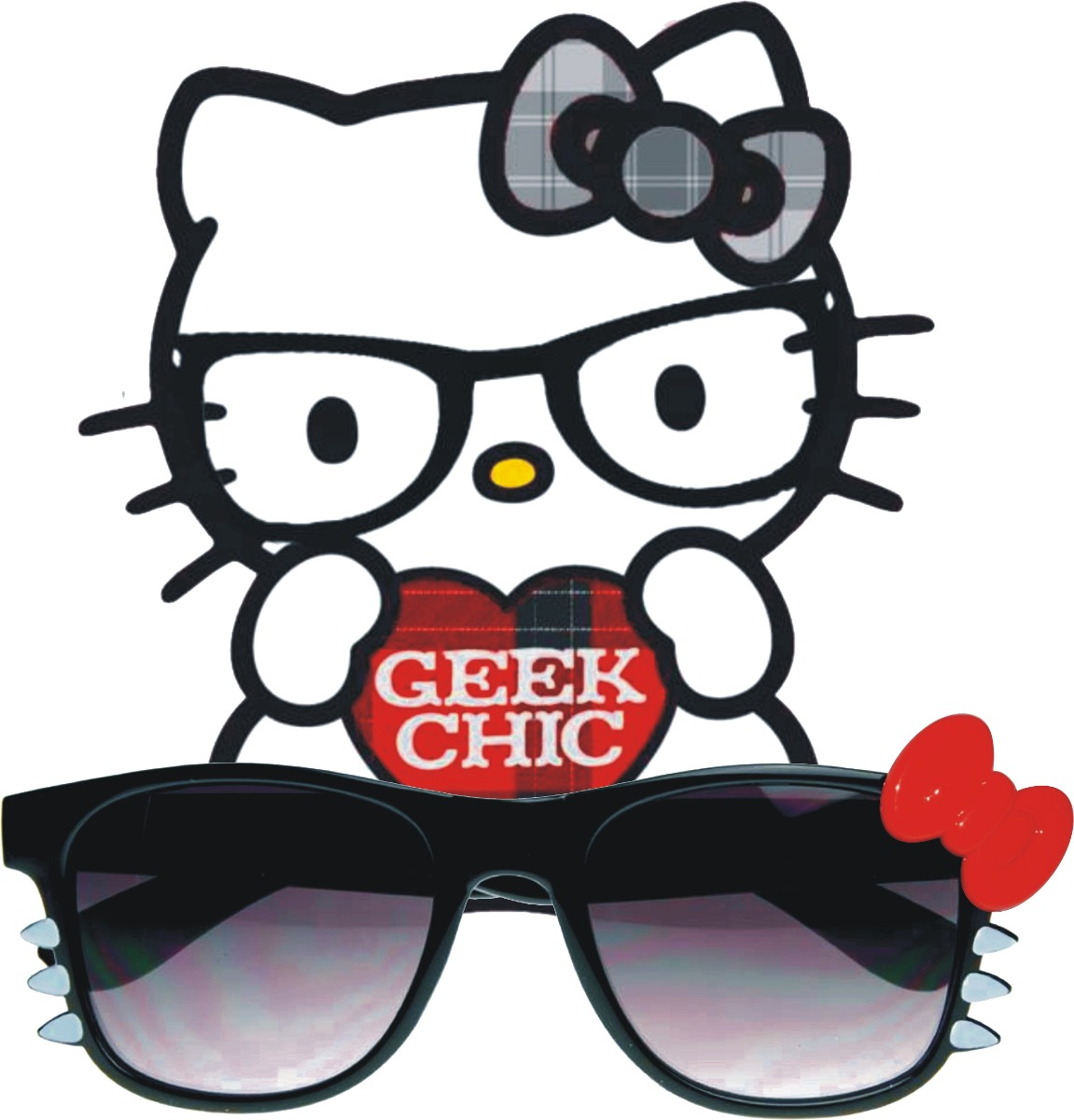 De Kitty Geek Marco Oscuro19 En Gafas Sol Lente Hello 990 Gato OXukZTPi