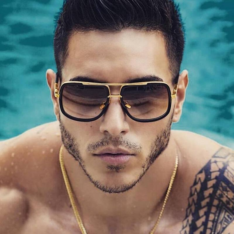 pensamientos sobre Venta barata precios de liquidación Gafas De Sol Hombres / Lentes De Sol Hombres Cuadrado