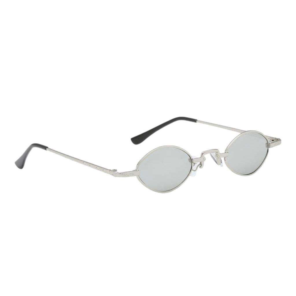 5c2fc5d270 gafas de sol lentes ovales uv 400 montura metálica estilo. Cargando zoom.