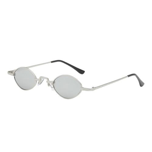 189dfe9a3e Gafas De Sol Lentes Ovales Uv 400 Montura Metálica Estilo - $ 171.78 ...