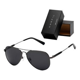 Gafas De Sol Marfil Aviador Piloto Police Unisex - Negro