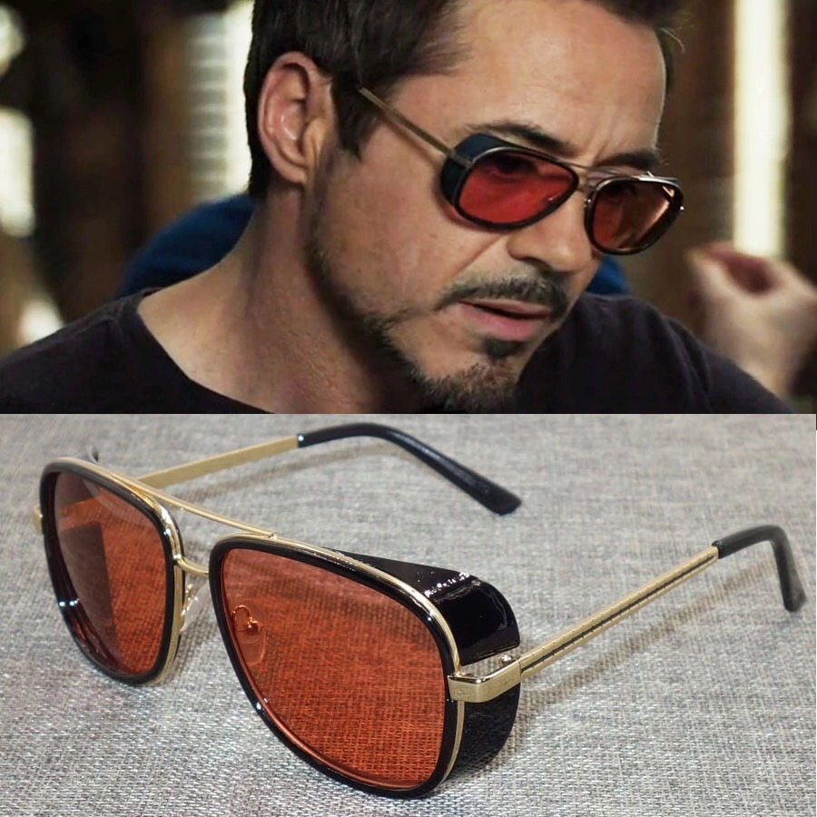 dd8315af28 Gafas De Sol Matsuda Tony Stark Iron Man Filtro Uv 400 - $ 49.900 en ...