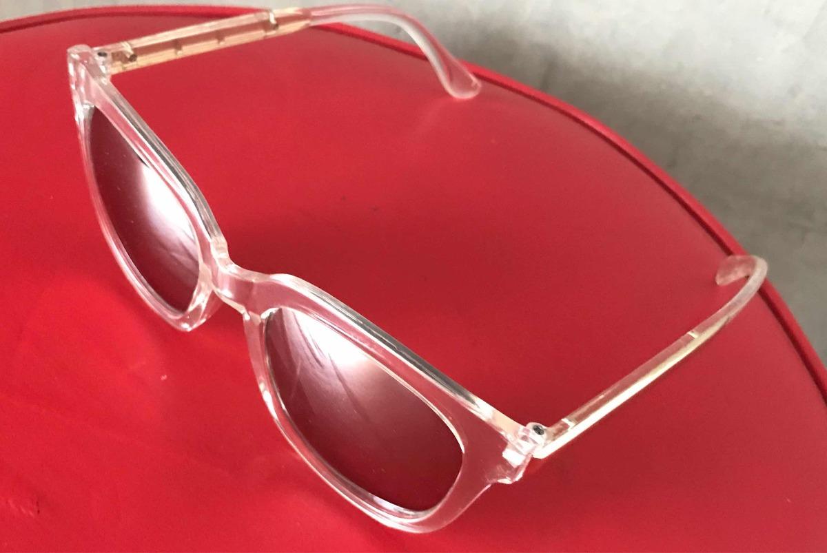 74f85a01ba Gafas De Sol Montura Color Transparente Nuevas Originales - $ 95.000 en  Mercado Libre