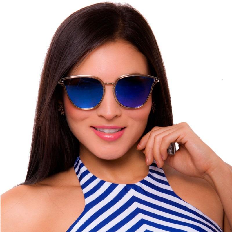 059e25e41e gafas de sol mujer lentes espejo filtro uv moda praie g006. Cargando zoom.