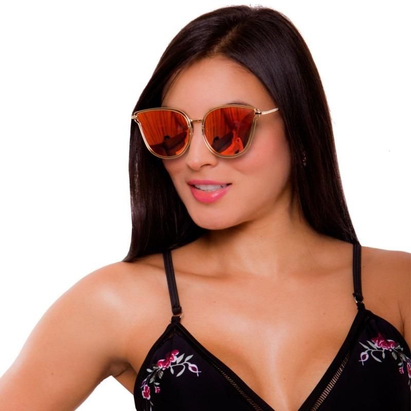 2ed3c36663 gafas de sol mujer lentes espejo filtro uv moda praie g006. Cargando zoom.