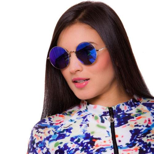 59e0924175 Gafas De Sol Mujer Lentes Espejo Filtro Uv Moda Praie G007 ...