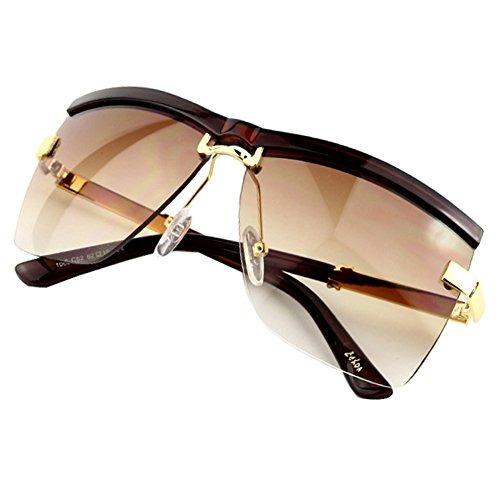 b88be1c545 Gafas De Sol Mujeres Sumery Semirimless Frame Luxury Design - $ 207.900 en  Mercado Libre