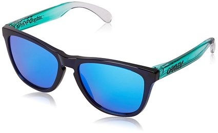 oakley frogskin azul