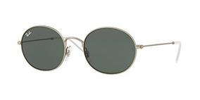 271ab48bbe Gafas De Sol Ovaladas Ray-ban 0rb3594, Caucho Plateado,