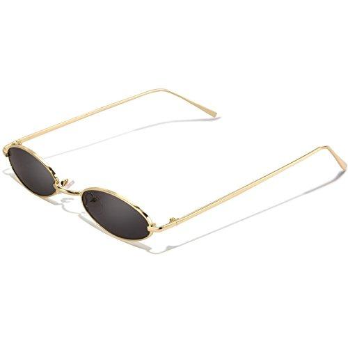 Gafas De Sol Ovaladas Vintage Para Mujer - Feirdio Marco ... bf88e1b6cf5d