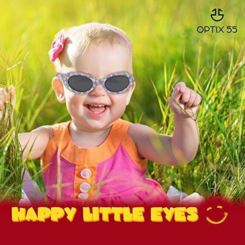 734f65dd76 Gafas De Sol Para Bebés Lentes Ahumadas Reduce El Resplandor ...