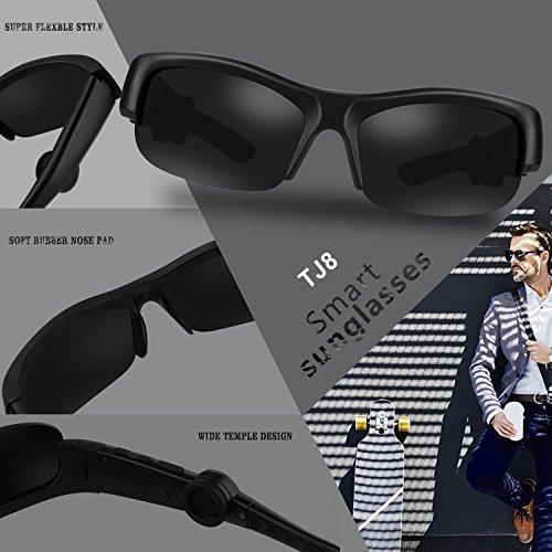 comprar popular 944ad a9ed8 Gafas De Sol Para Conduccion Osea Tj8 Inalambricas Con Bluet