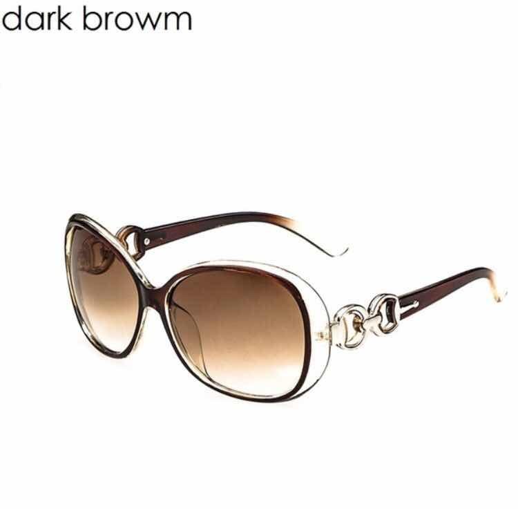 15d4a20f6b Gafas De Sol Para Mujer Marrón 100% A La Moda Filtro Uv - $ 3.990 en ...