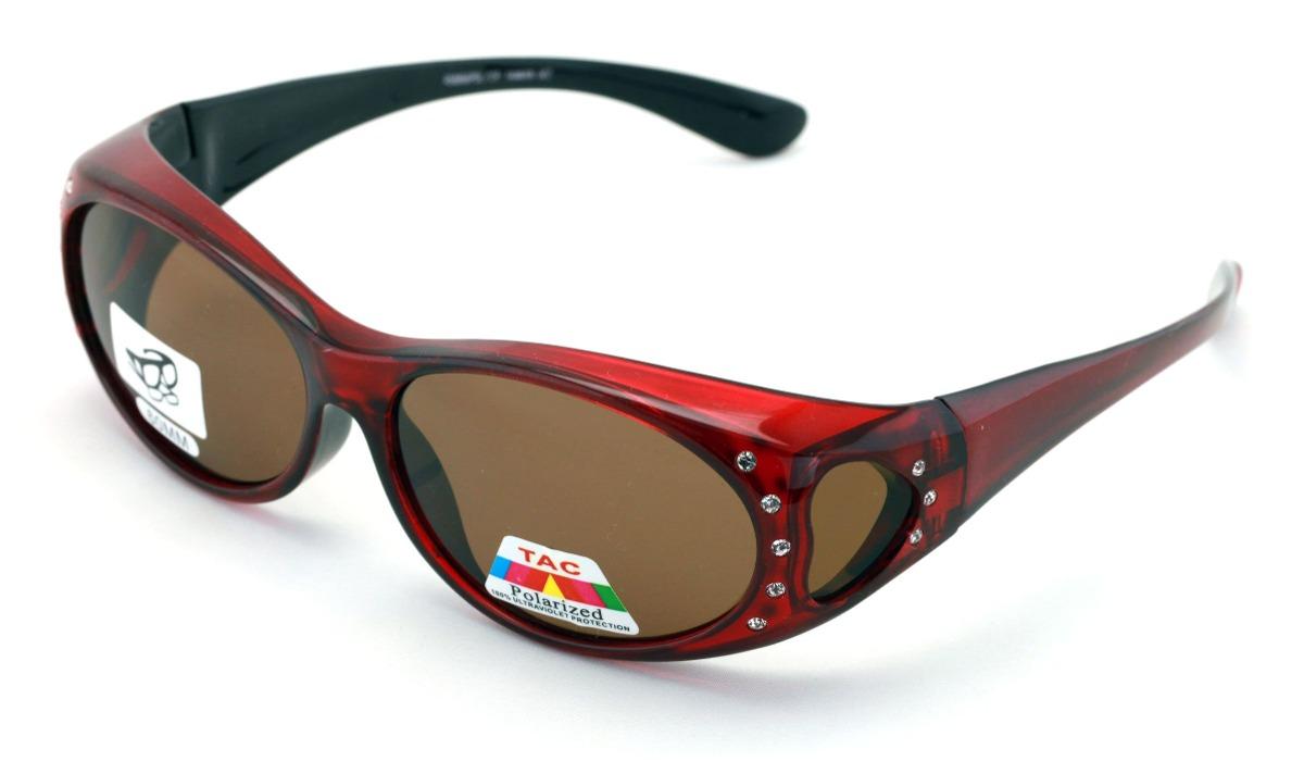 Gafas Colocar Anteojos Polarizadas Para Mujer Sol Sobre De lFcT3J5Ku1