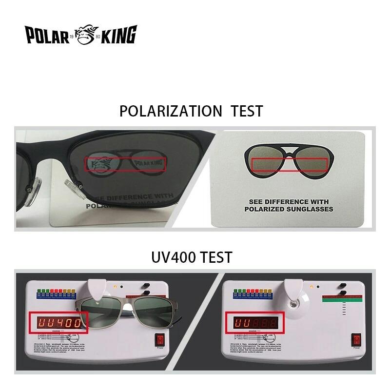 0ac11374f9 Gafas De Sol Polar King Hombre. Polarizadas Uv400 - $ 549.00 en ...