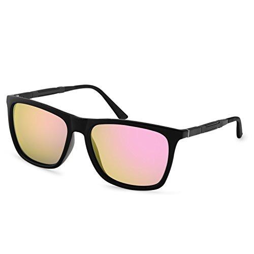 f5f0aacbc0 Gafas De Sol Polarizadas Amztm Gafas Reflectantes Espejadas ...