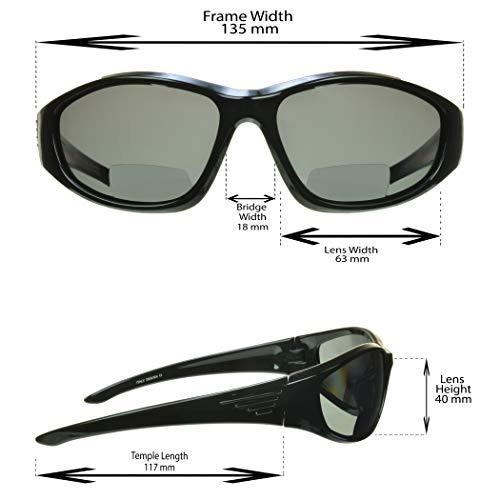 490836160a Gafas De Sol Polarizadas Bifocales. Sobremarcha De Lentes ...