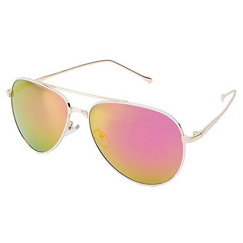 5a79be1ecb Gafas De Sol Polarizadas Celaine, Aviador Unisex Marco De Me ...