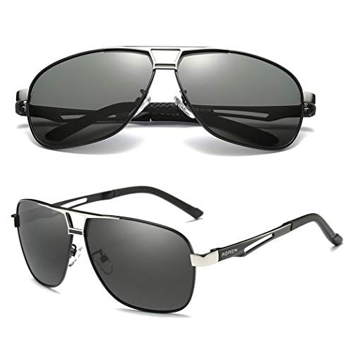 4c4cd3fe47 Gafas De Sol Polarizadas De Conduccion Para Hombres De Aoron ...