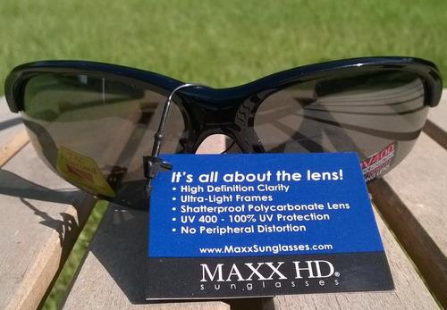 gafas de sol polarizadas de dominio hdp maxx hd