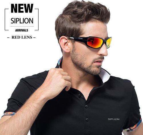 e45ecdf299 Gafas De Sol Polarizadas Siplion Para Hombre Gafas Deportiv ...