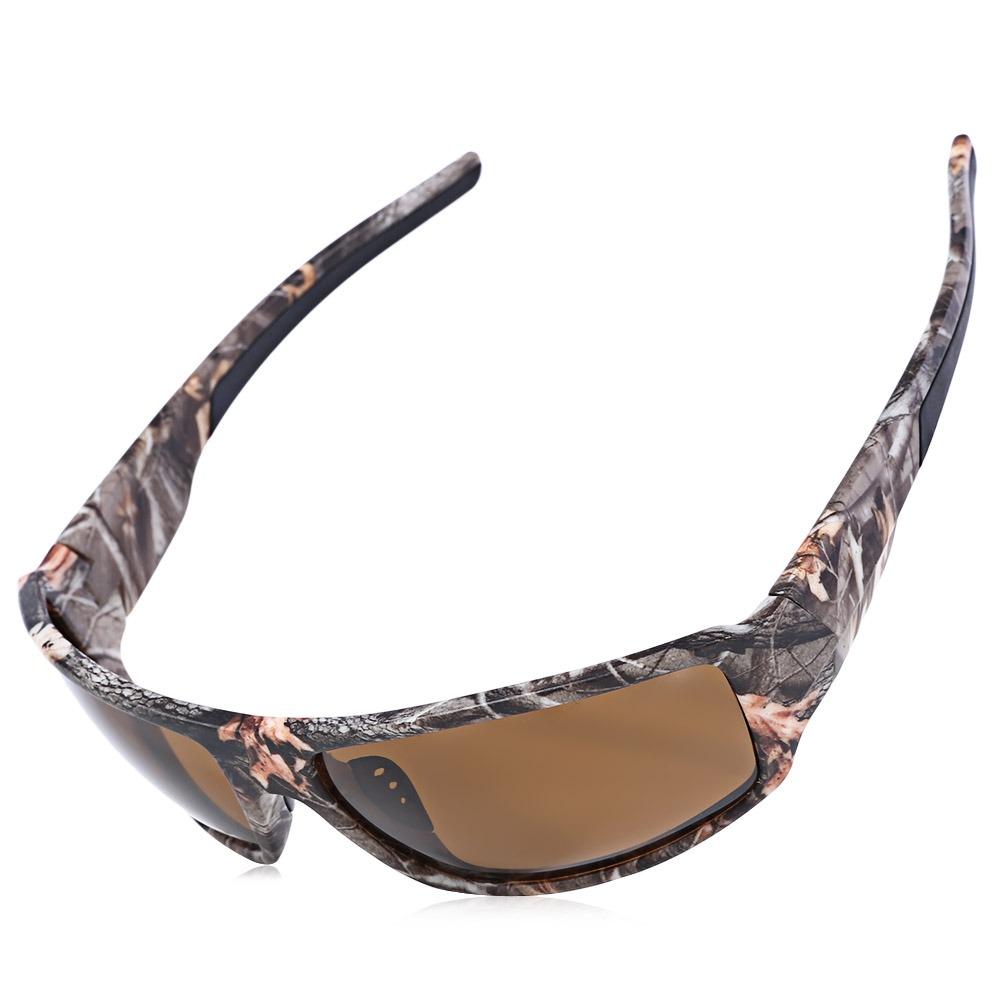 Gafas De Sol Polarizados Marco Camuflaje Viento Prueba A bYyfg67