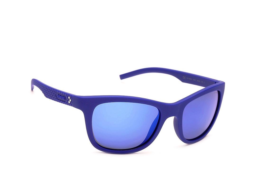 24eac9e122 Gafas De Sol Polaroid Polarizado Espejeado Azul Nuevas - $ 1,094.90 ...