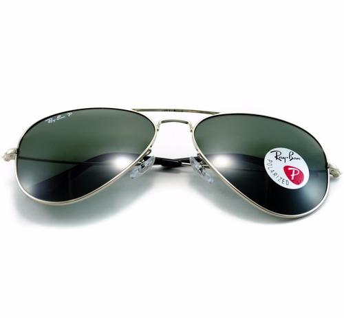 gafas de sol ray-ban aviador rb3025 003/58 polarizadas 58mm