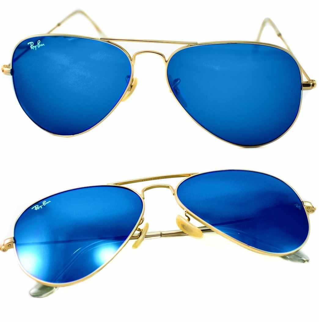 Gafas Ray-Ban Color Azul Oscuro en Mercado Libre Colombia