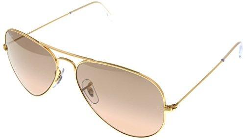 8de4937d2eae5 Gafas De Sol Ray Ban Aviator Gold Para Mujer Rb3025 001  3e ...
