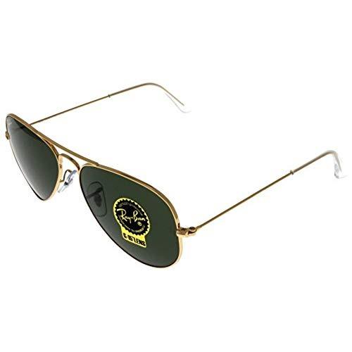 673b268184 Gafas De Sol Ray Ban Aviator Gold Unisex Rb3025 W3234 - $ 227.990 en ...