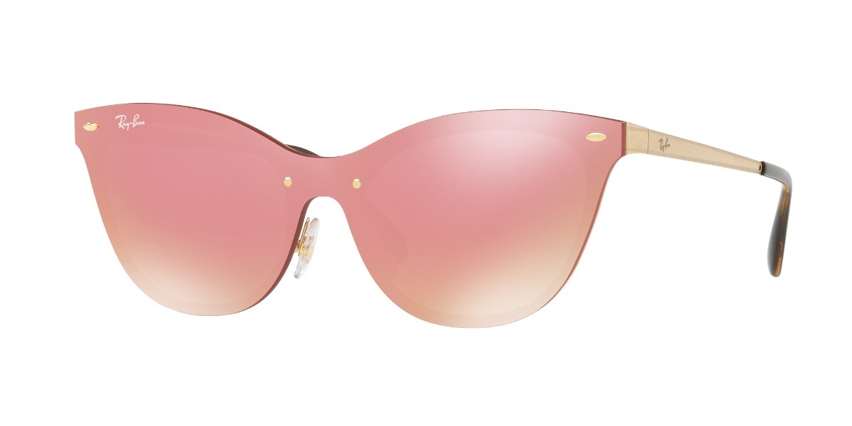 Gafas De Sol Ray-ban® Blaze Cat Eye Pink Mirror - $ 510.000 en ...