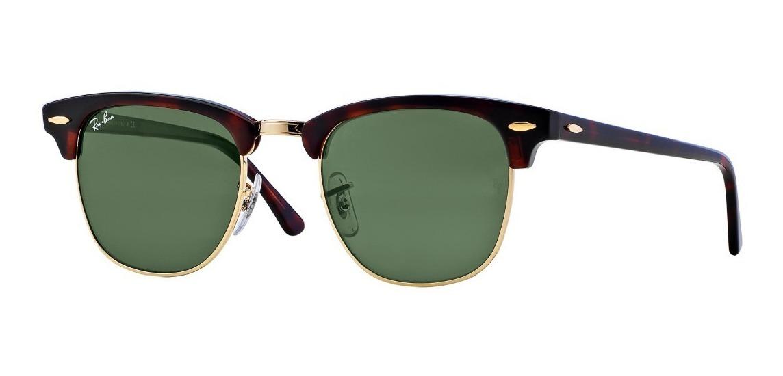 d4681954d7 Gafas De Sol Ray-ban® Clubmaster Carey - $ 376.000 en Mercado Libre