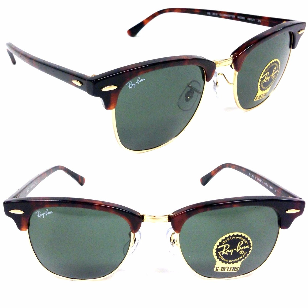 ray ban rb3016 clubmaster w0366 valve