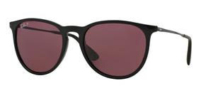 Sol Ban® De Negro Marco Lente Gafas Ray Purpura Erika cRjLSA4q35